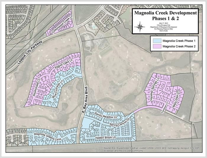 Magnolia Creek Development Map