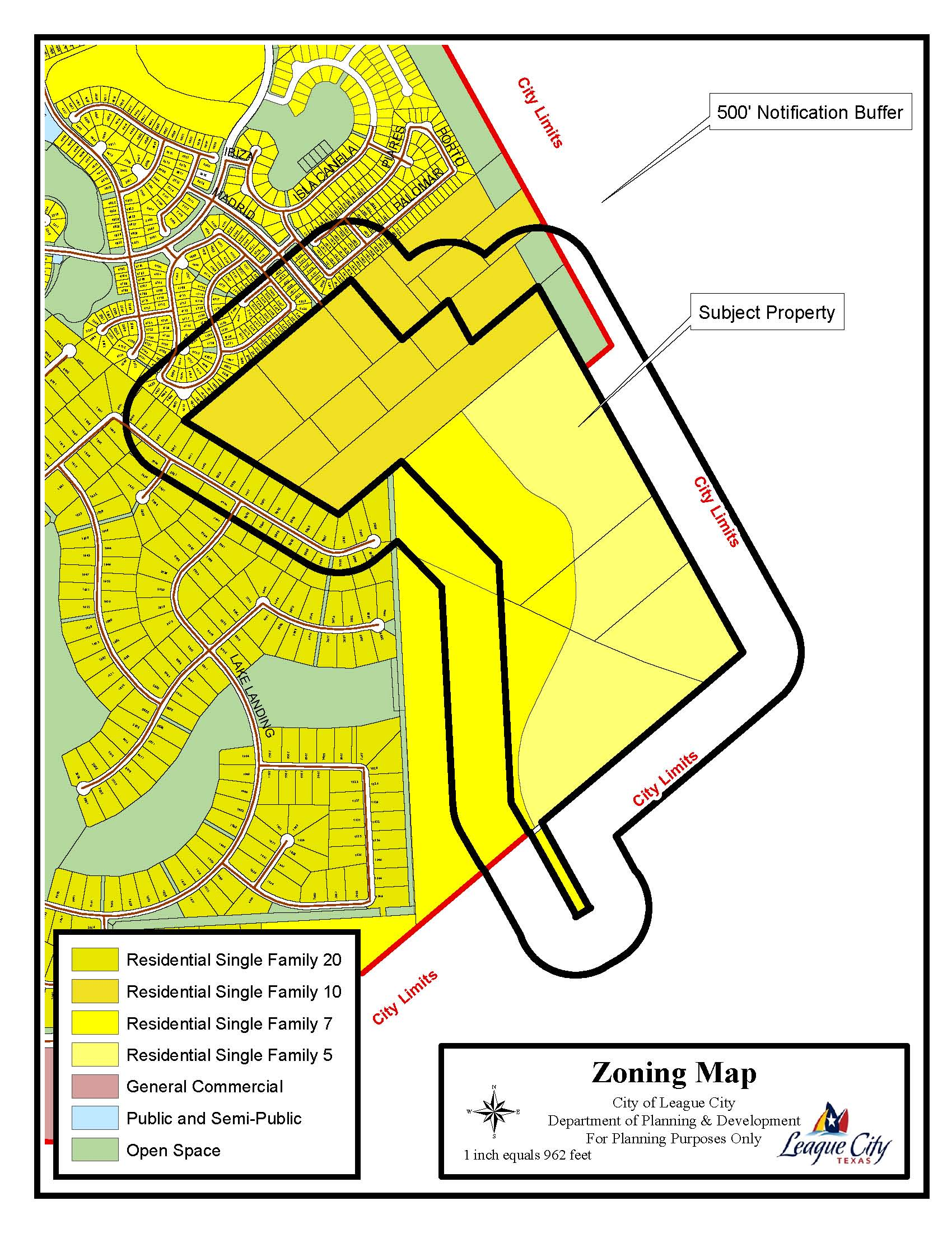 Z15-07 (Lakes of Quail Pointe) zoning map