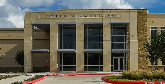 League City Public Safety Building Front