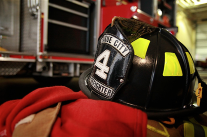 League City Fire Fighter Helmet