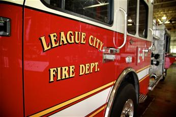 League City Fire Department Truck