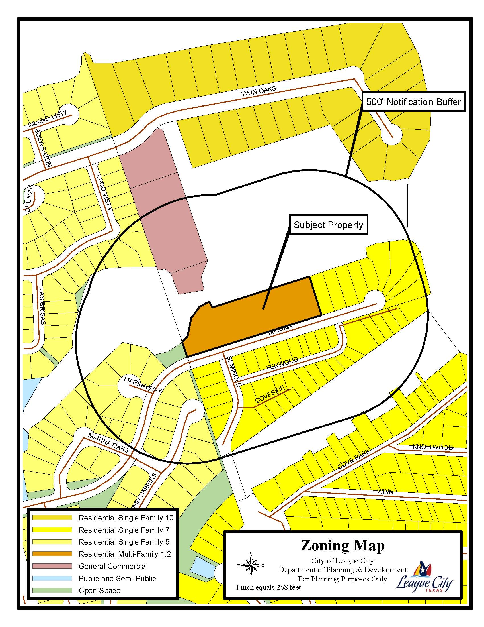 Z15-05 (Newcor Development) Zoning Map