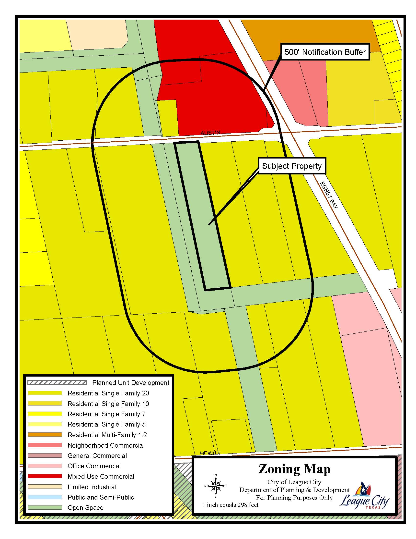 2103 Austin Zoning Map (Reconfiguration)