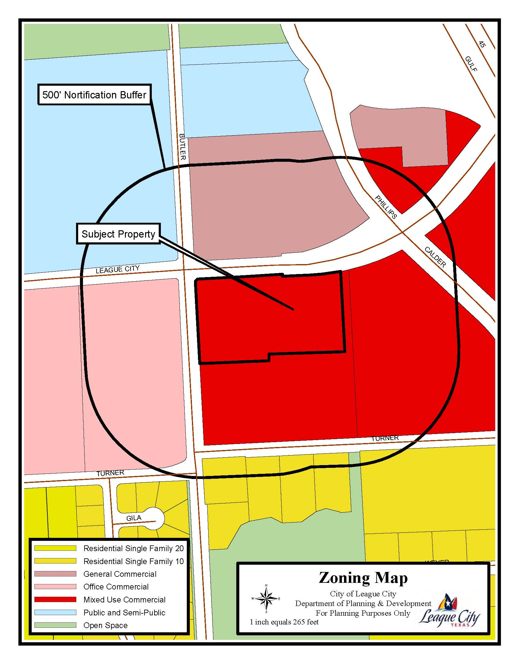 SUP15-04 Zoning Map