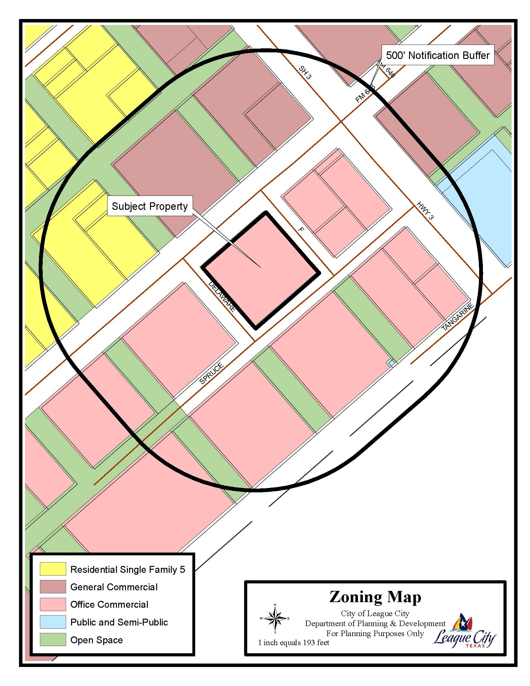 SUP15-09 Zoning Map