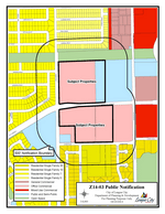 Zoning map of Z14-03 Brittany Estate