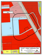 Z14-07 Pinnacle Park zoning map