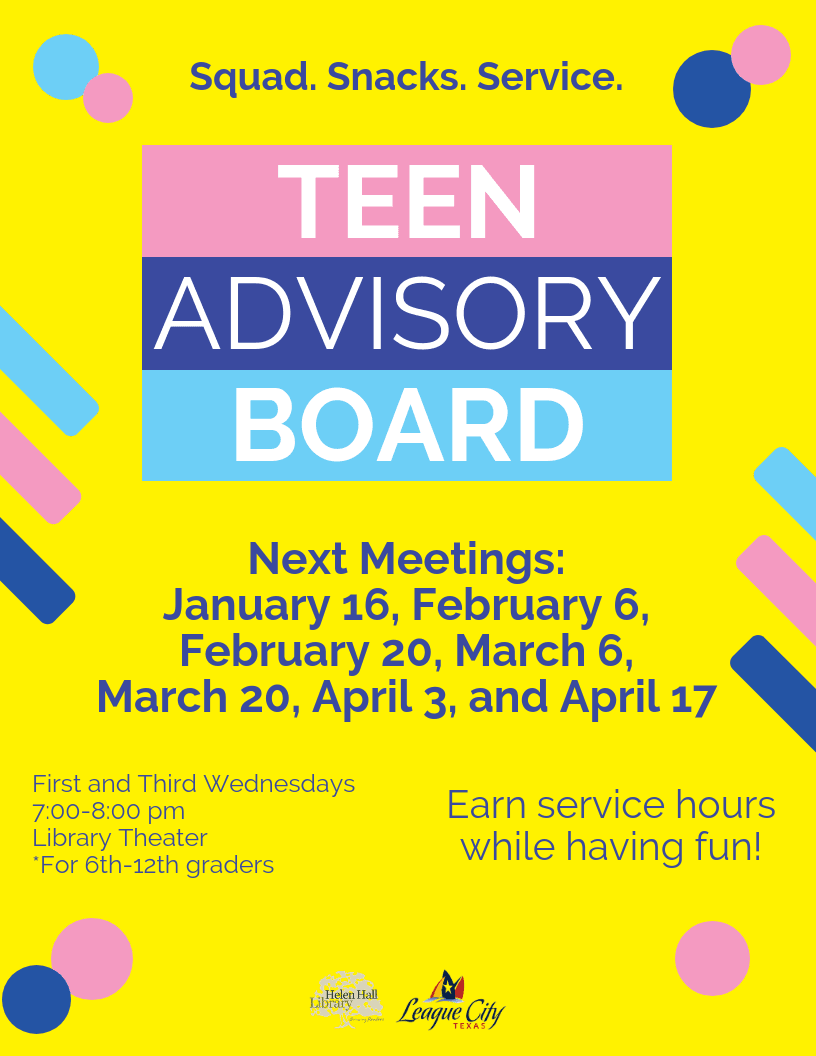 Teen Advisory Board_Spring 2019