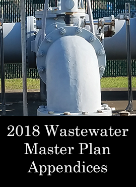 2018 Wastewater Master Plan Appendices Wastewater Treatment Plant Lift Station