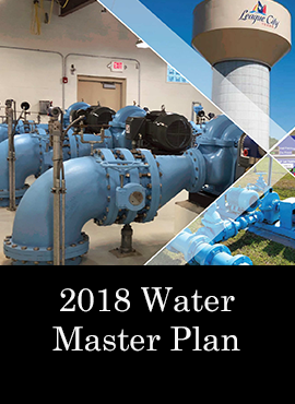2018 Water Master Plan Water Treatment Plants