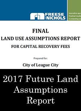 2017 Land Use Assumptions Report Graphic