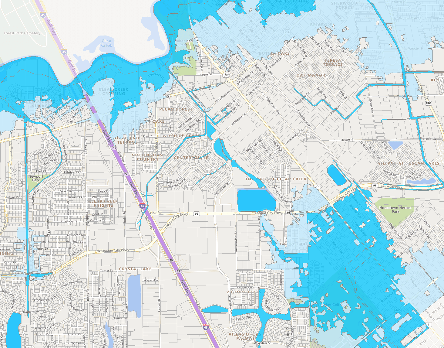 Flood Zones Map