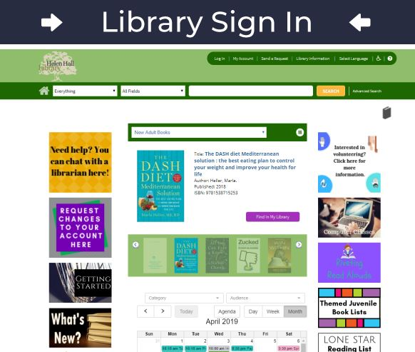 Library Sign-in Icon