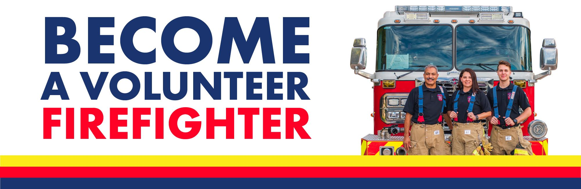 become a volunteer firefighter