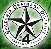 Logo Brazoria Drainage District No 4 Logo
