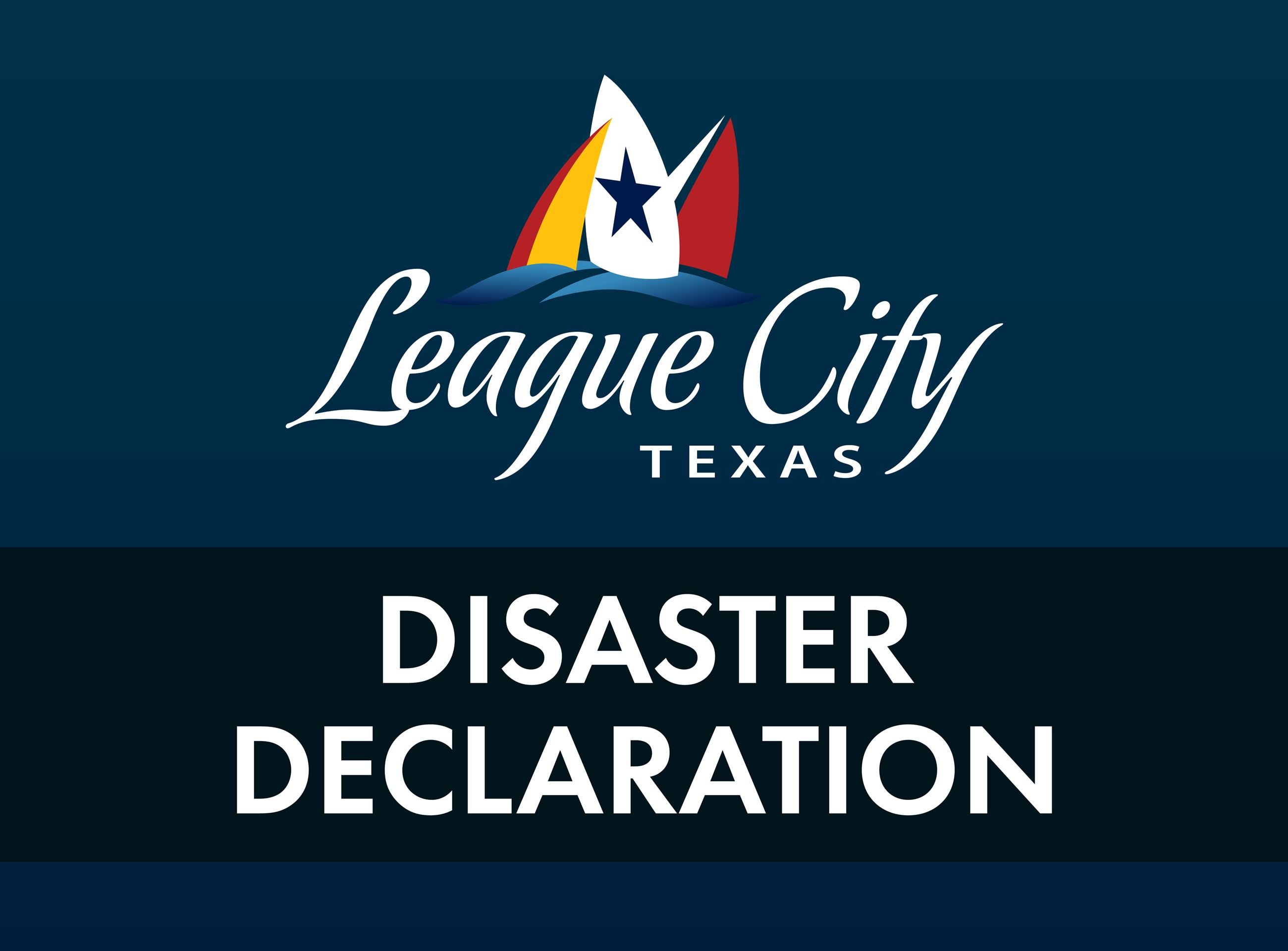 league city disaster declaration