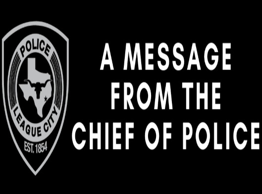 message from the chief
