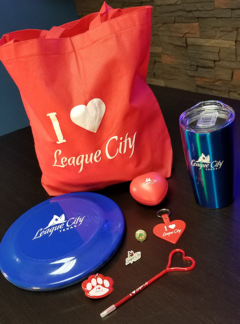 League City swag prizes