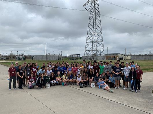 Wastewater Tour Group Picture