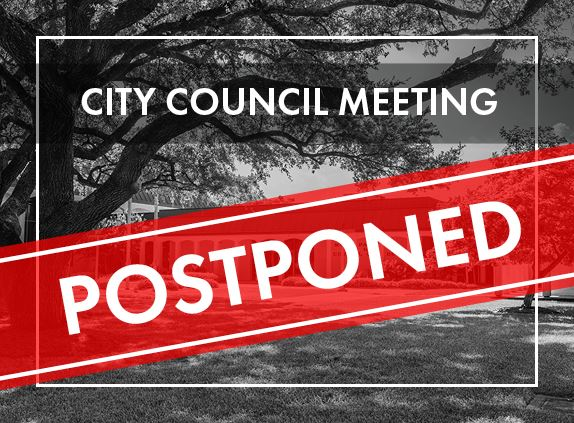 council meeting postponed highlight