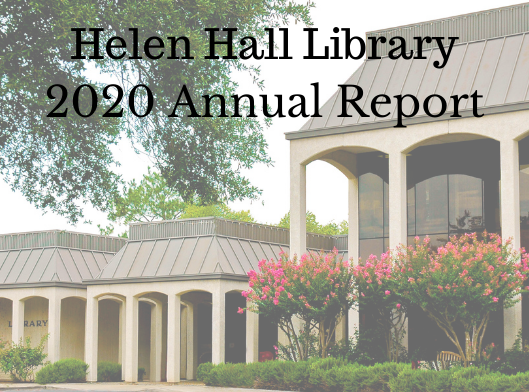 Helen Hall Library 2020 Annual Report