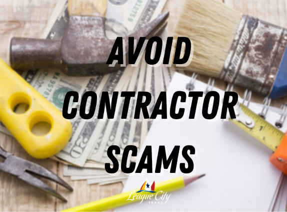 AVOID CONTRACTOR SCAMS