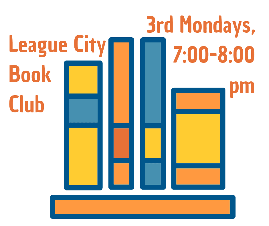 League City Book Club Graphic