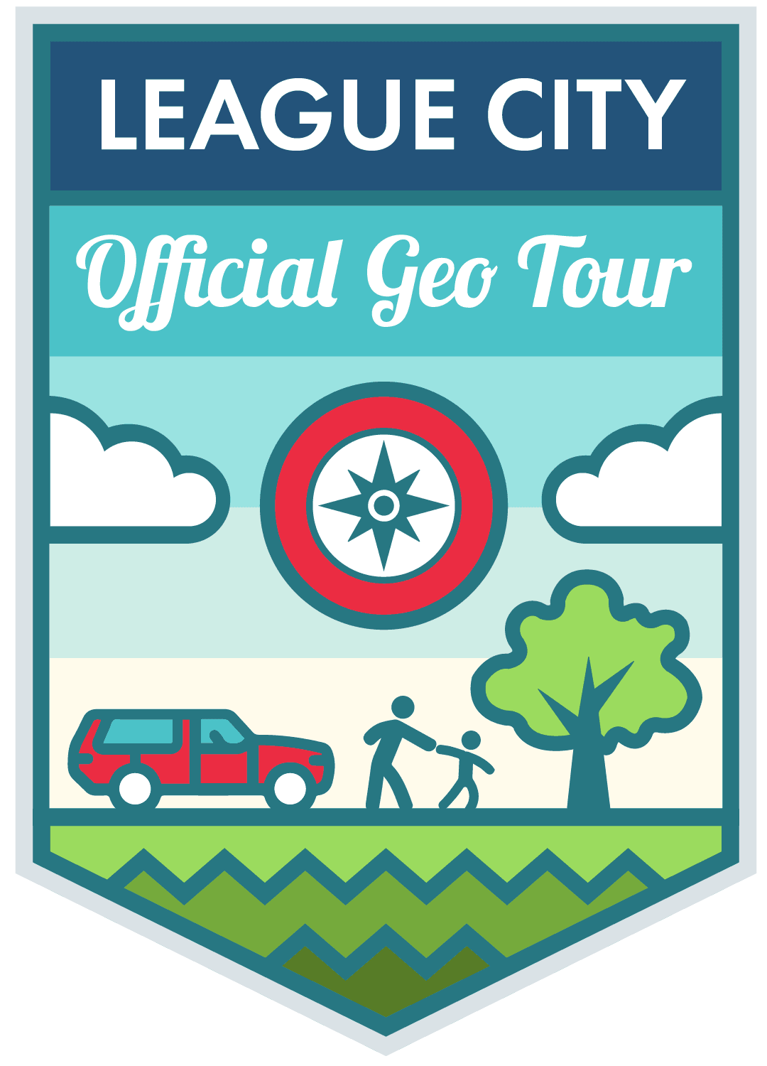 league city geotour logo