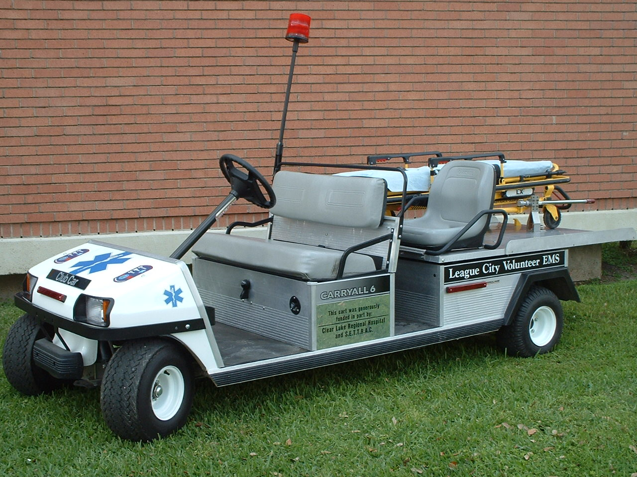 Photo of EMS Golf cart